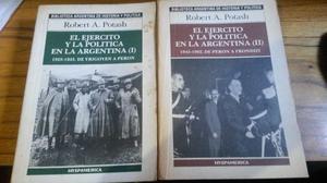 Potash- El ejercito y la politica en la Argentina I y II