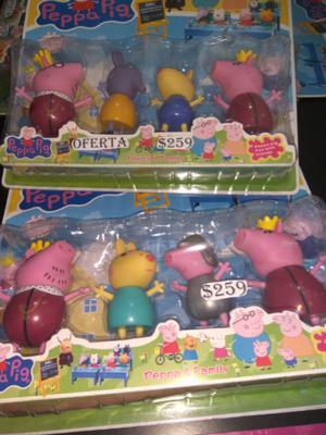 Set de muñecos de PEPPA $259 y muchas ofertas mas