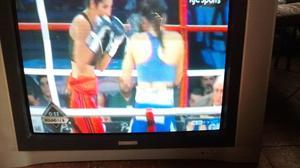 "Tv Telefunken 34"" pantalla plana."