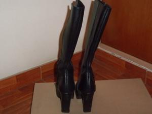 Vendo botas de Caña Alta