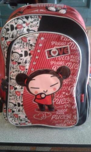 Vendo mochila de pucca nueva original