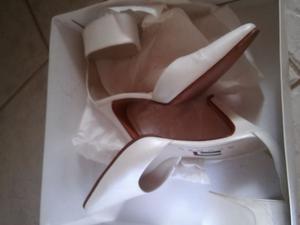 Zapato de fiesta ideal para novia o quinceañeras numero 36