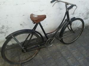 bicicleta antigua 80 años made England