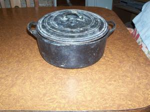 olla de fundicion de hierro