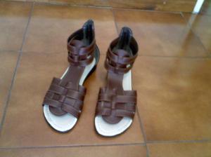 sandalias para mujer n° 37 con 2 usos