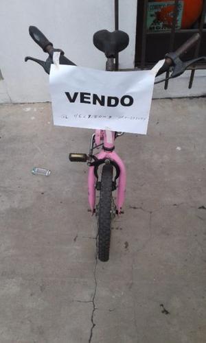 vendo bicicleta de nena usada