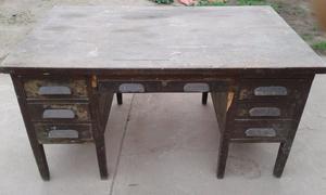 vendo escritorio antiguo a restaurar