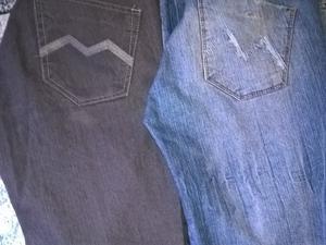 vendo jeans Mikak.talle 38 los 2 por$200
