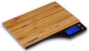 Balanza Digital De Cocina Alta Precisión Bamboo Hasta 5kg