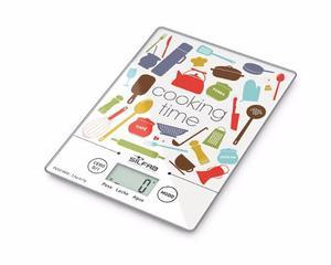 Balanza Electrónica De Cocina Ultra Slim Silfab Bc300