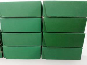 Cajas de cartón bibliorato oficio para archivos verdes
