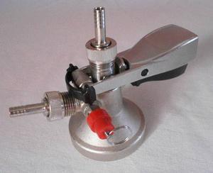 Conector Tipo G Con Valvula De Alivio Para Barriles Cerveza