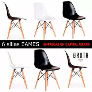 6 sillas comedor diario capital federal y gba posot class for Sillas comedor pack 6