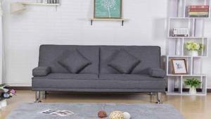 Sofa Cama De 2 Cuerpos Tela Importado Luka