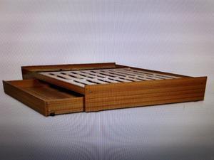 Vendo base de sommier de madera
