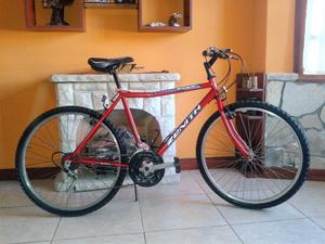 Vendo bicicleta todo terreno rodado 26 con 18 velocidades...