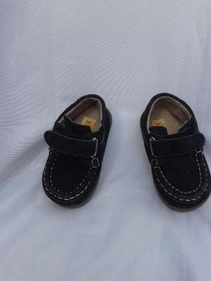 Zapato Nautico Mocasin KEEK 18 Velcro NUEVO Varon costura