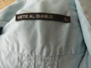 camisa hombre de marca talle L manga larga