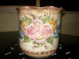 florero de porcelana italiana
