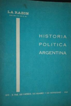 historia politica argentina (la razon) )