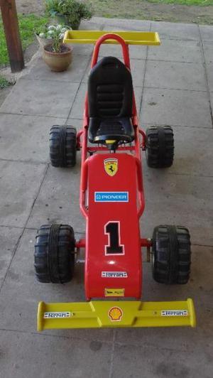 karting a pedal para niños practicamente sin uso