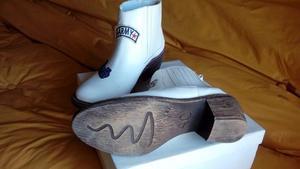 Botas texanas de cuero. Nuevas (1solo uso)