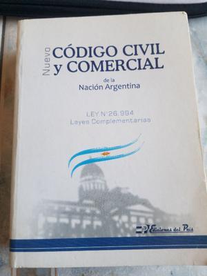 Código Civil y Comercial de la Nación Argentina