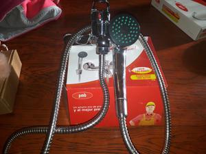 Griferia de ducha con duchon anti sarro2 posot class for Griferia monocomando