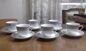 Hermoso y delicado juego de te de porcelana china, sin uso