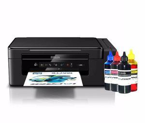 Impresora Epson L395 Todo En Uno Sistema Continuo Con Tinta