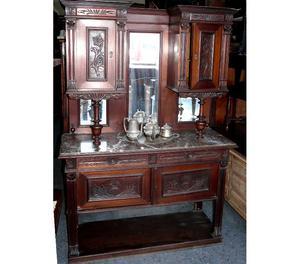 Mueble Aparador Antiguo De Roble - Brixton Muebles