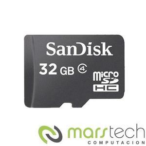 Tarjeta De Memoria Micro Sd 32gb Sandisk