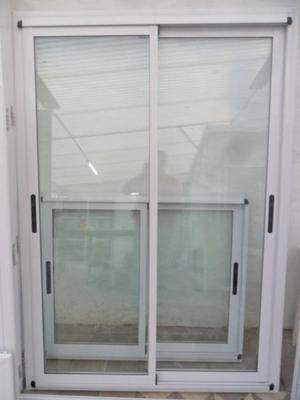 Puerta balcon aluminio modena 150x200 posot class for Ventana balcon medidas