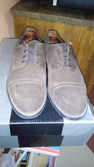 Vdi zapatos de gamuza marrones, muy buen estado Nro. 40 -