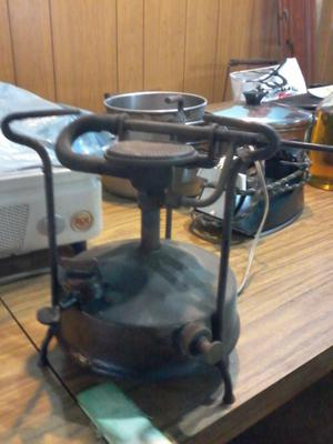 Vendo calentador antiguo a kerosene