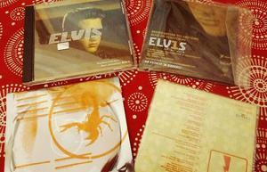 elvis combo 4 cds promocionales