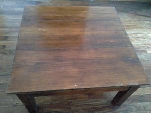 mesa ratona cuadrada $700