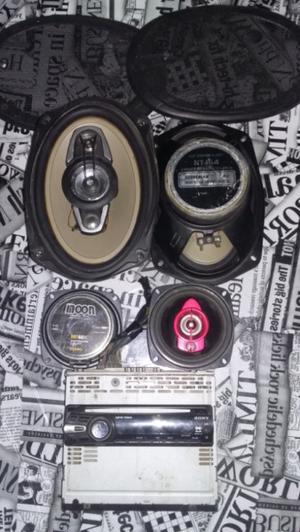 Estereo Sony xplod y parlantes