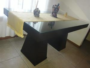 Juego de comedor mesa y 6 sillas x mudanza