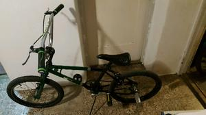 bicicleta bmx rodado 20 con pedalines.