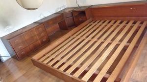 juego de dormitorio de 2 plazas usado