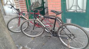 vendo 2 bicicletas rodado 26 buen estado