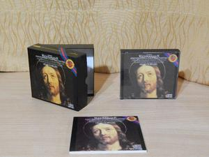 Bach - Opera La Pasion Segun San Mateo, 3cd con libro,