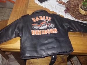 Campera chaqueta de cuero niño