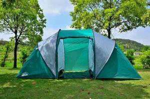 Carpa Familiar 6 - 7 Personas 3 Ambientes Camping