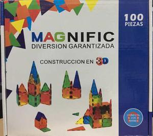 Envío Gratis!magnific 100 Piezas Magneticas(como