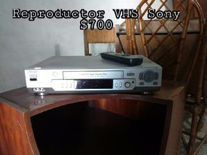 Reproductor VHS Sony