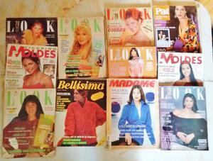 Revistas Moldes, Bellísima, Pat y Look. Todas tienen