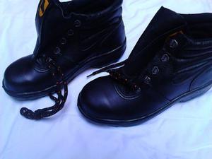 Zapato de seguridad Ombu caña alta talle 38