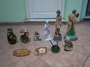 estatuas de yeso ceramica y otros adornos